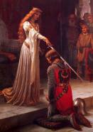 The Accolade, by Edmund Blair Leighton