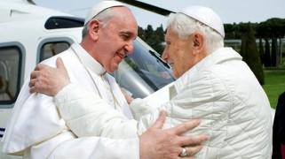 Popes Francis and Benedict XVI